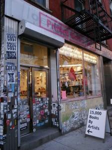 ニューヨークのアートブック専門店「Printed Matter」