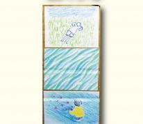 竹田道哉さんの個展「うちゅうのはしっこを見にゆく」が開催されます。