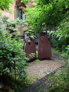 群言堂の中庭