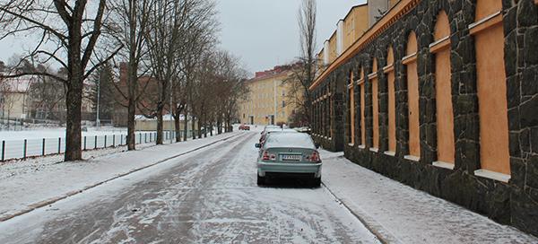 ヘルシンキの冬