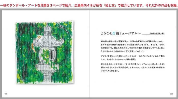 広島 自費出版 リトルプレス「ひろしまスケッチブック」の誌面見本